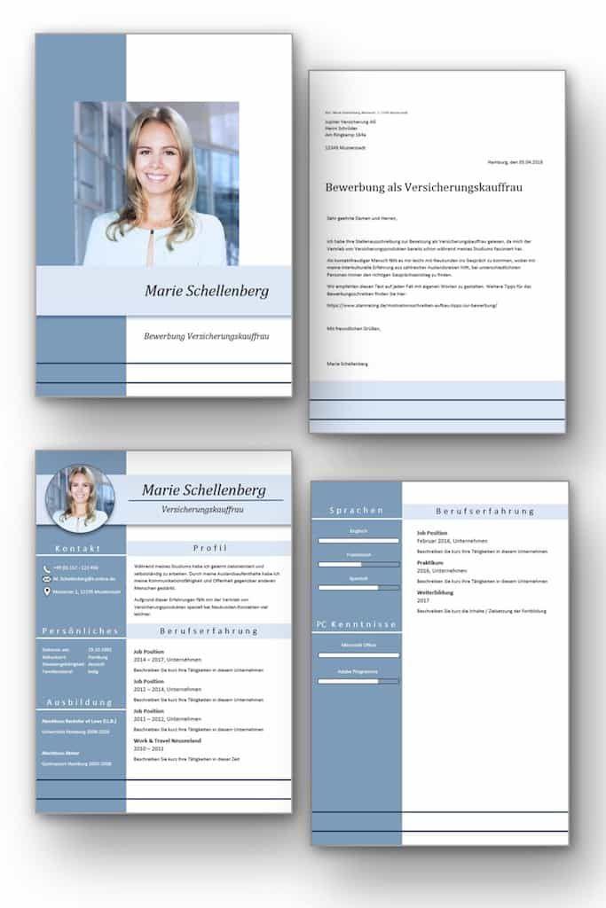 Komplett Set Cv Lebenslauf Download Die Bewerbungsvorlage Full Attention Vol 2 Uberzeugt Von Beginn Lebenslaufvorlage Moderner Lebenslauf Lebenslauf Ideen
