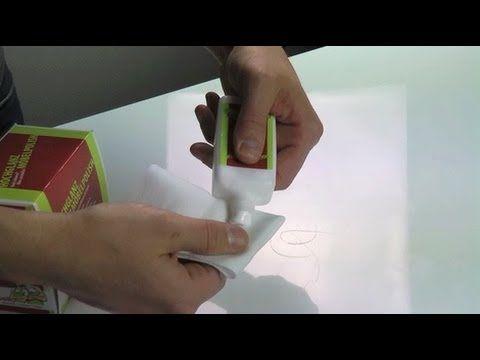 reinigung pflege von hochglanz fl chen beseitigung von scheuerstellen youtube. Black Bedroom Furniture Sets. Home Design Ideas