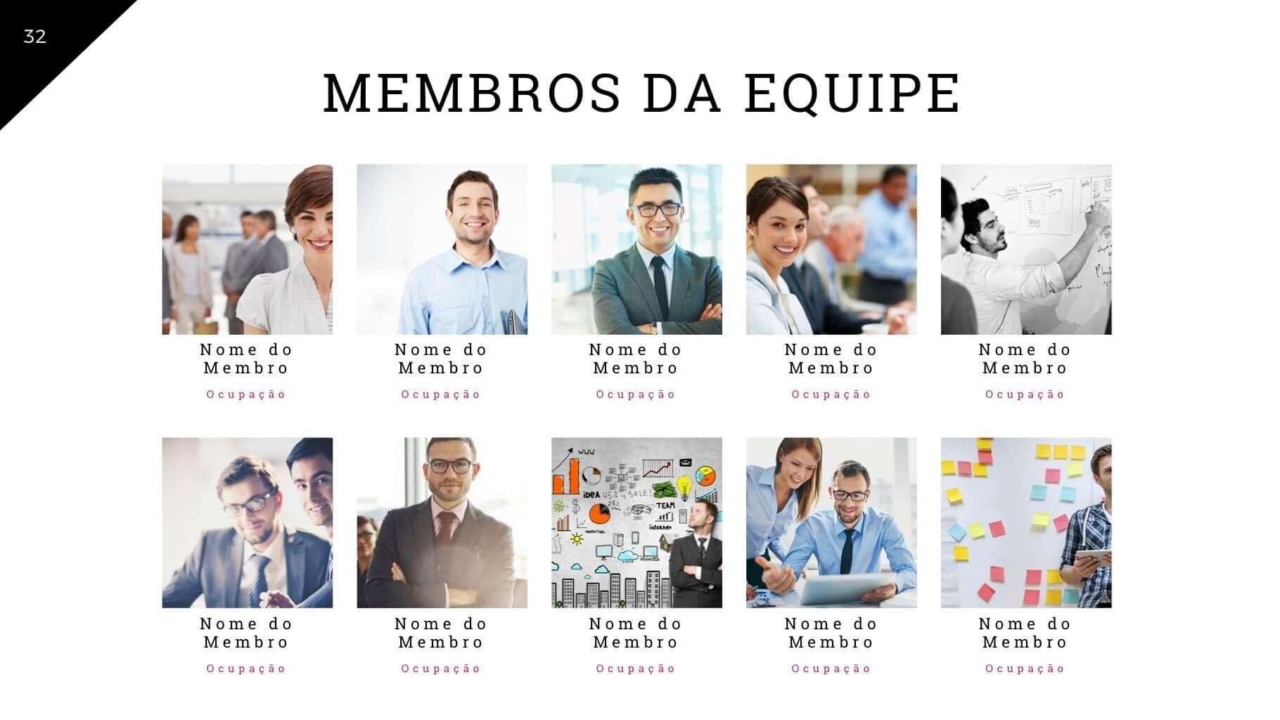 Apresentacao De Empresa Corporate Tema De Powerpoint Com Imagens