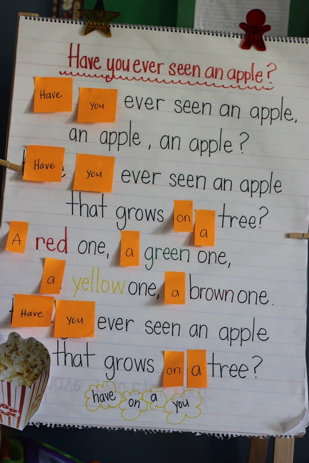 Unit Theme Apples