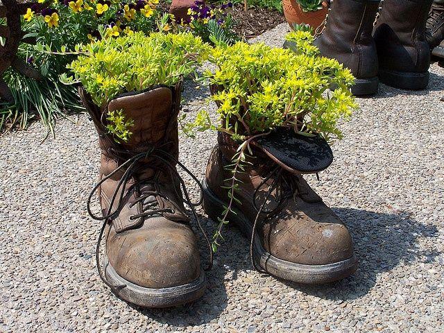 Delo recup recherche google deco au jardin pinterest d co jardin id es de d co et pots - Deco jardin recyclage ...