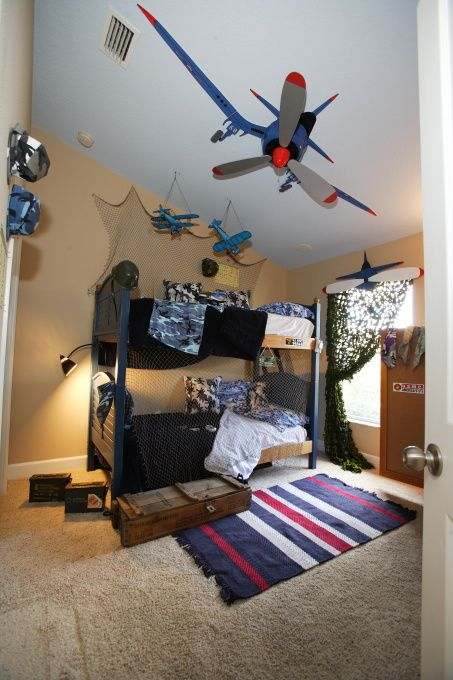 Boys Military Airforce Room Although We Would Have To