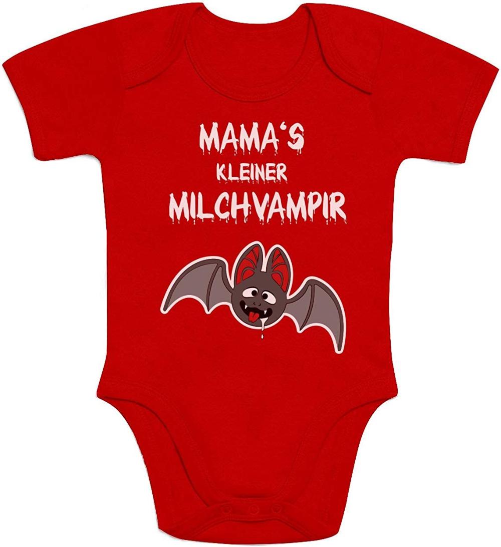 Baby Body Baumwolle Milchvampir Geburt Geschenk Strampler Mama