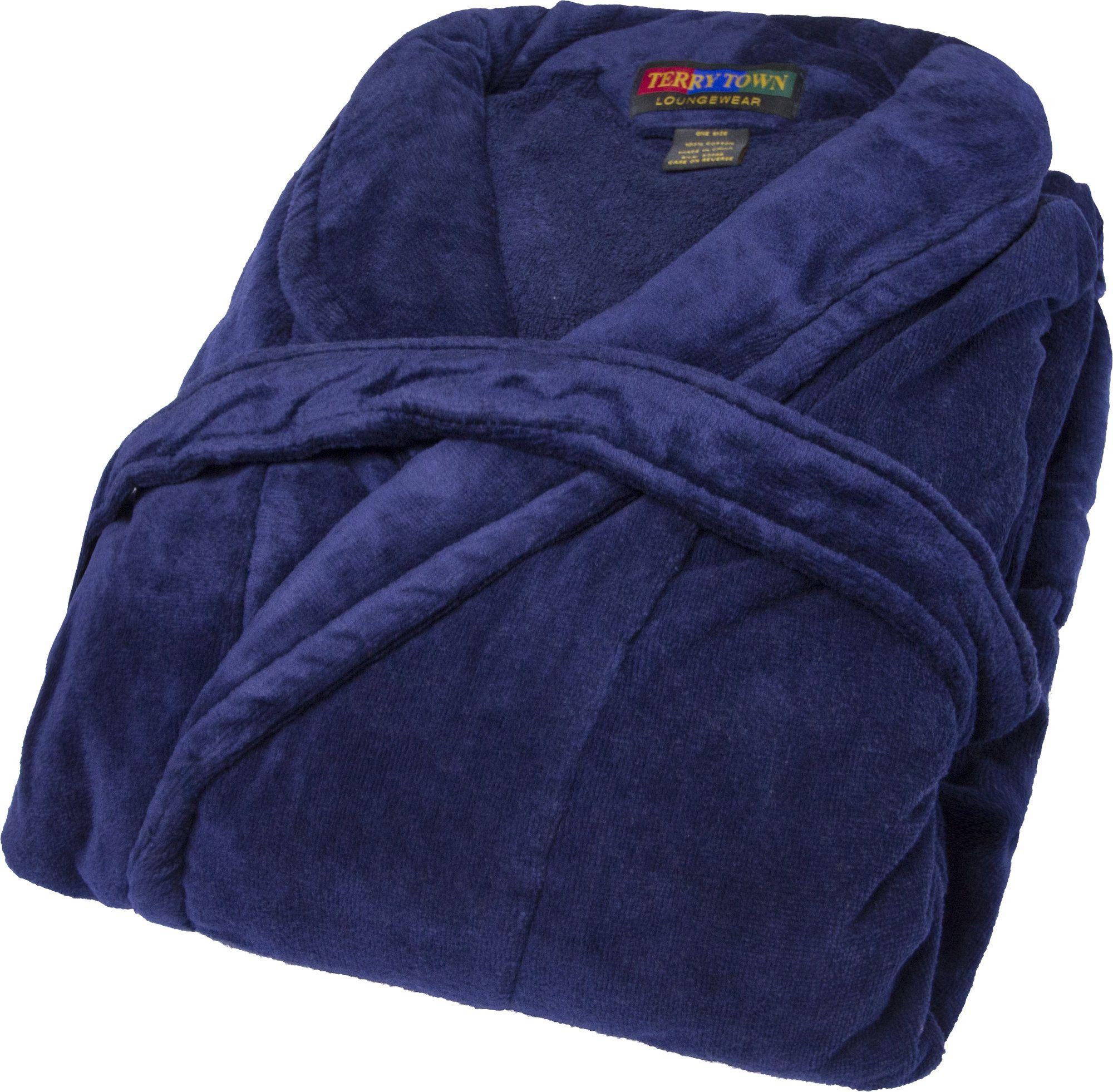 Terry velour shawl bathrobe terry town pinterest products