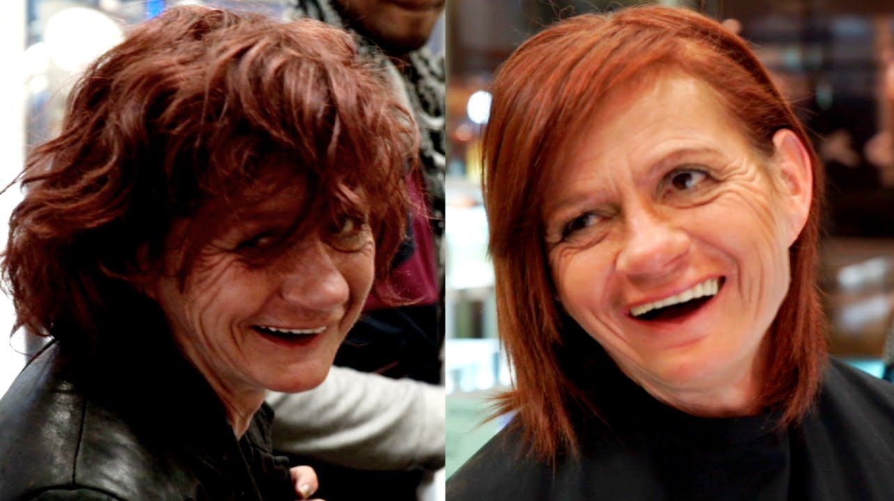 Homeless Woman Gets Extreme Makeover On Valentines Day Will Make Extreme Makeover Take That Lady