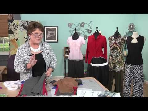 Judy Kessinger Creates a Variety of Pant Styles from one Pattern on ...