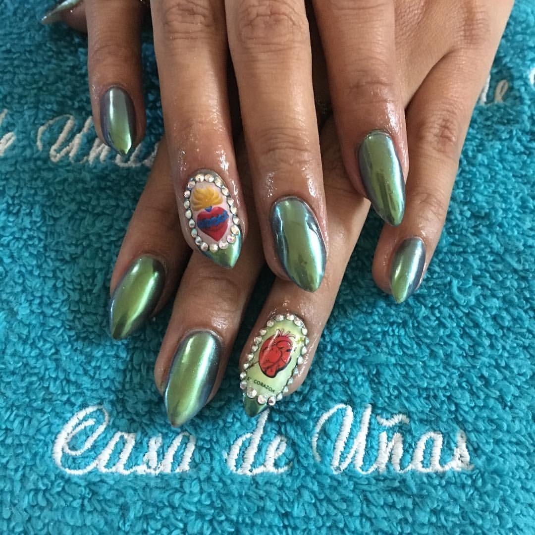 casadeunasnails #nails   Nails at Casa de Uñas   Pinterest   Auras