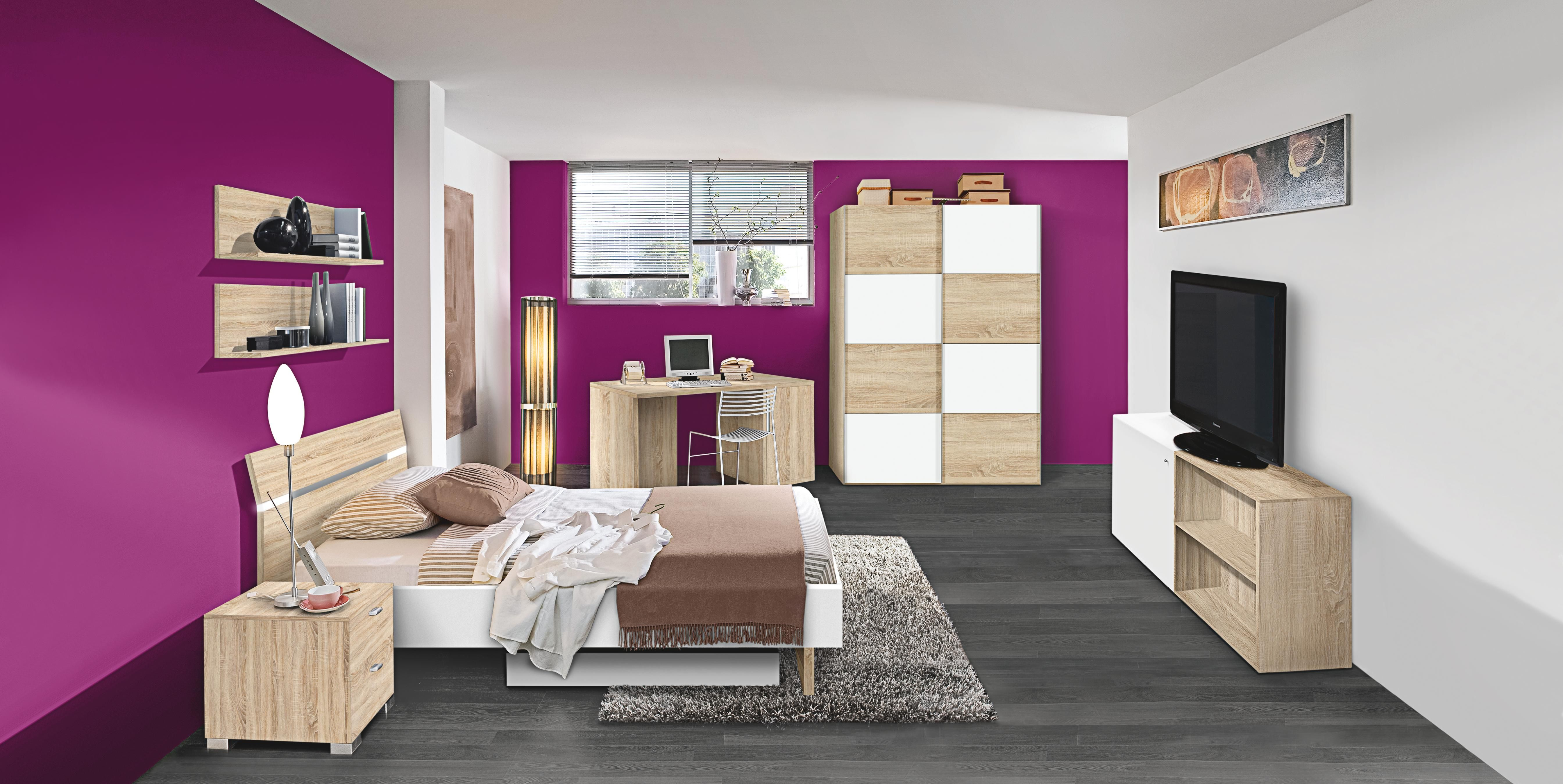 dieses jugendzimmer ist hochwertig und chic bei einer gr e von ca 120 x 200 cm b x l bietet. Black Bedroom Furniture Sets. Home Design Ideas