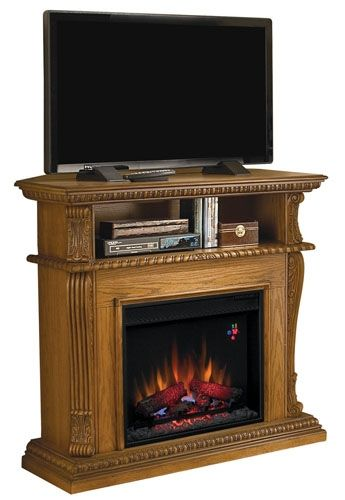 Classic Flame Corinth Convertible Media Center Electric Fireplace ...
