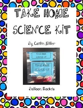Take home science projects