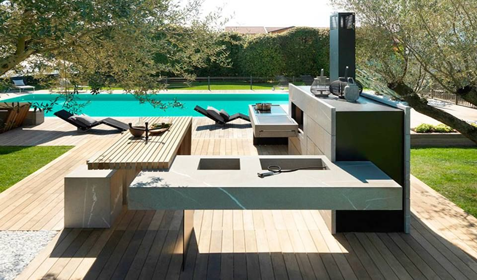 MODULNOVA outdoor kitchen. Imagine you and your family and