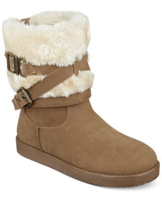 13888150dad G by GUESS Azzie Cold Weather Booties Big boot sale at Macys. Free ...