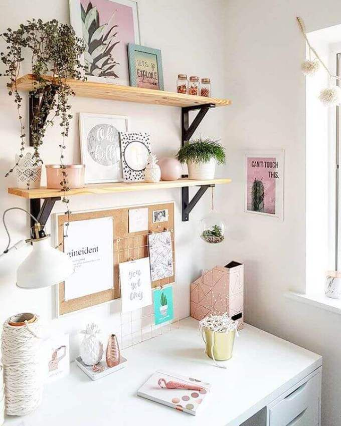20+ Genius Cork Board Ideas For Bedroom And Office