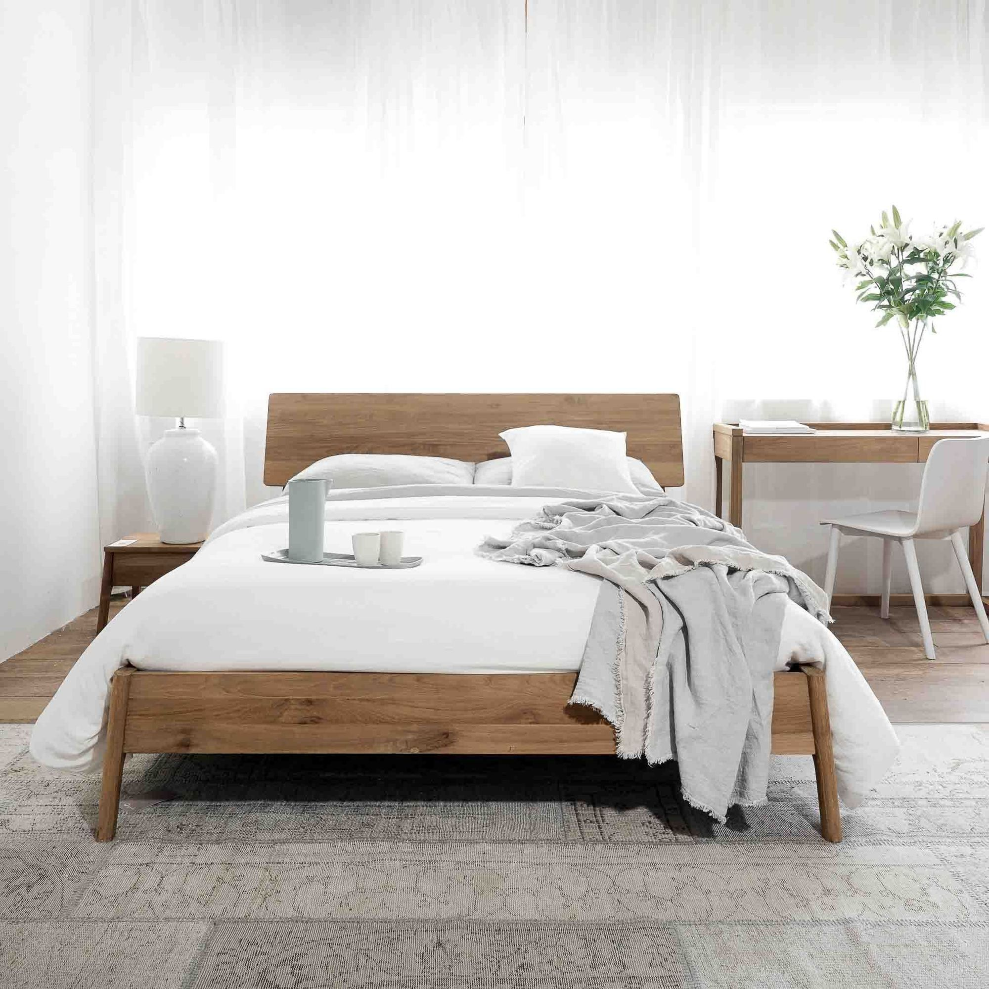 Teak Bed Frame Air Bed Australia Size In 2020 Beds Australia