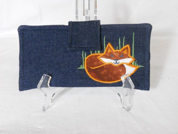 Ladies Wallet Womens Wallet  Denim with by LakesideQuiltsMaine, $28.00