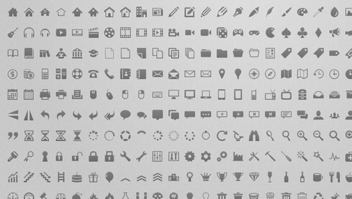 is a free icon set of 300 superb icons, also