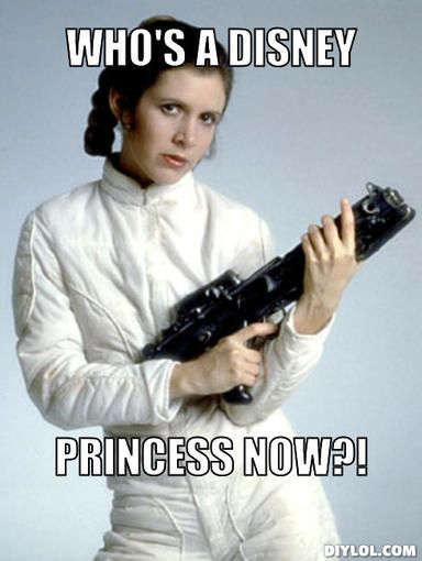 Leia is an iconic woman in sci-fi, and now she's an awesome Disney Princess, too!  -- A Fanboy's Guide to Princess Leia