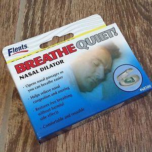 Breathe Quiet Nose Dilator Helps Relieve Snoring Nasal Congestion  | eBay