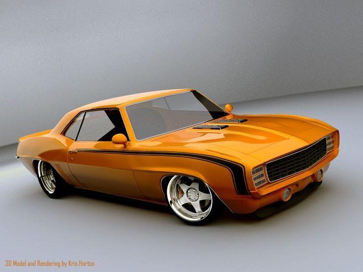 Chip Foose 69 Camaro Camaro 69 Chip Foose 1 Track Fever