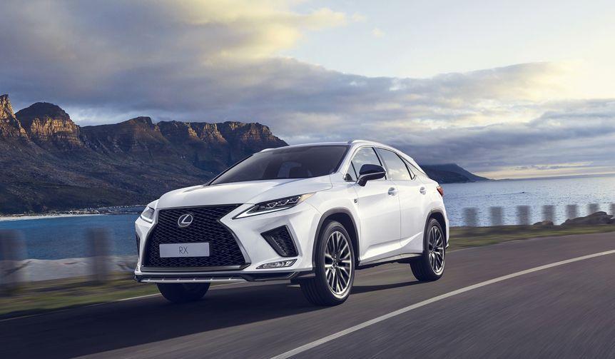 マイナーチェンジしたレクサスのSUV「RX」登場|Lexus マイナーチェンジしたレクサスのSUVRX登場