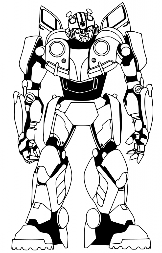 Bumblebee Coloring Pages Best Coloring Pages For Kids Transformers Coloring Pages Bee Coloring Pages Firetruck Coloring Page