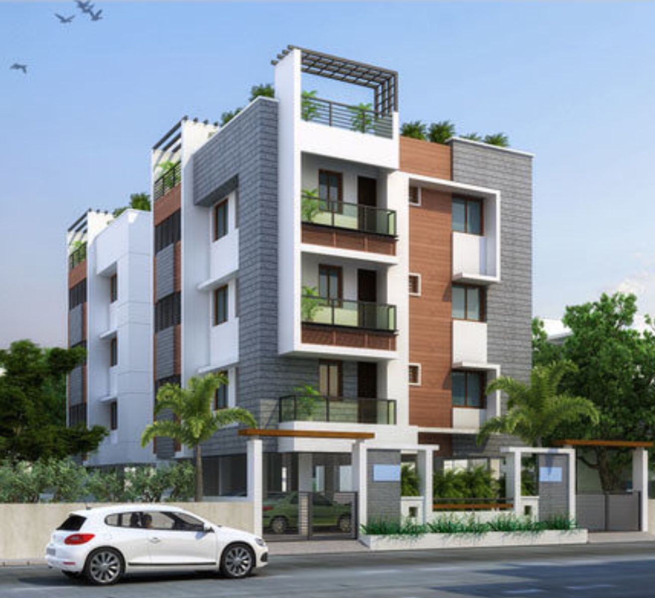 Apartments | Residential building design, Residential ...