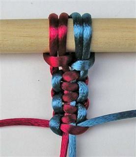 Pulseras de Nudos: 3 Square Knots