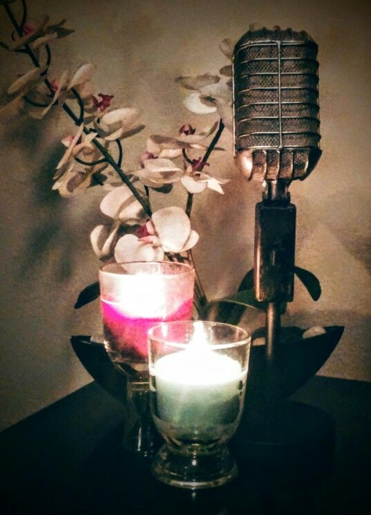 Take regular scented febreeze candles and use dollar store shot glasses and/or glass votives to create height...by Jenisha