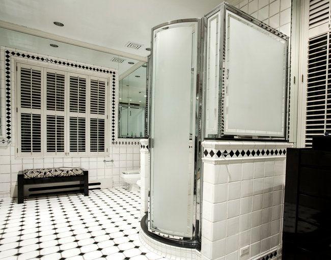 art deco bathroom bad pinterest jugend und badezimmer. Black Bedroom Furniture Sets. Home Design Ideas
