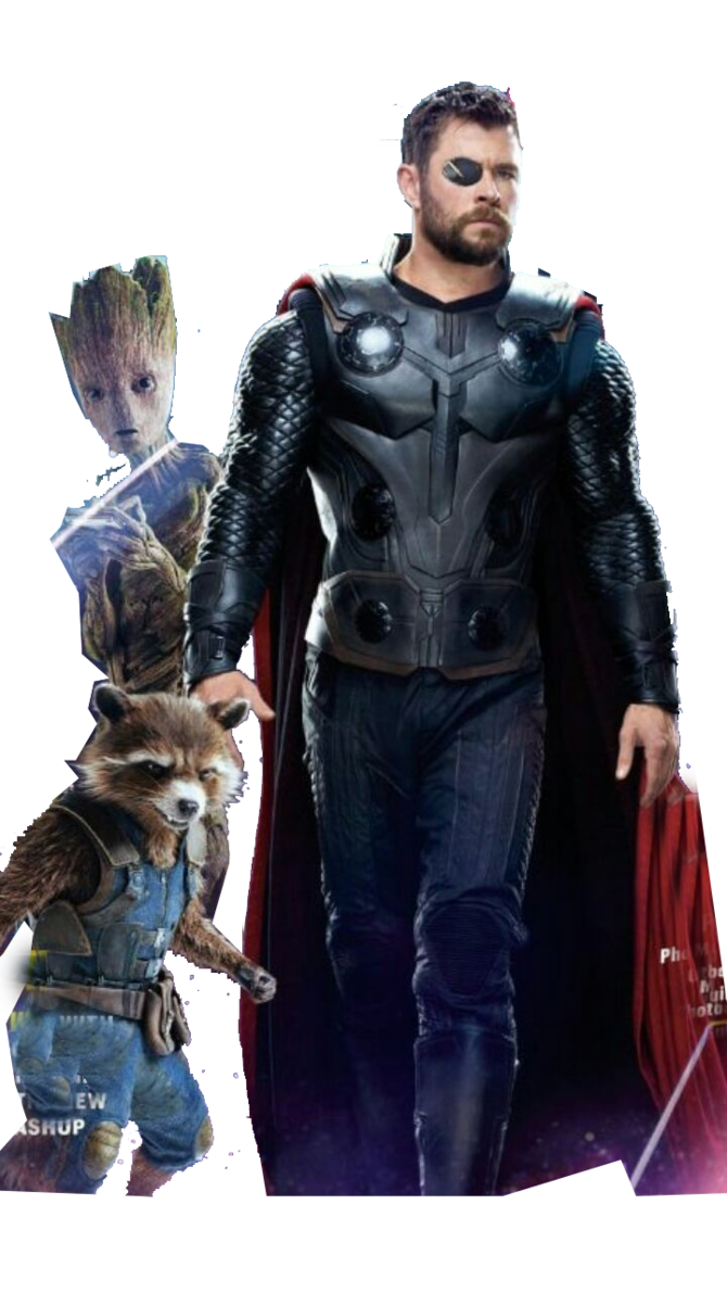 Avengers Infinity War Thor Rocket And Groot By Https Www Deviantart Com Ggreuz On Deviantart Avengers Infinity War Avengers Thor