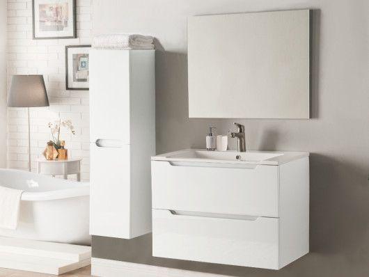 Meubles salle de bain sous vasque + colonne - STEFANIE ...