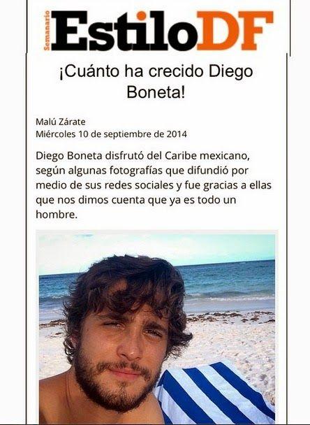 Diego Boneta Group: [NOTA] ¡Cuánto ha crecido Diego Boneta!