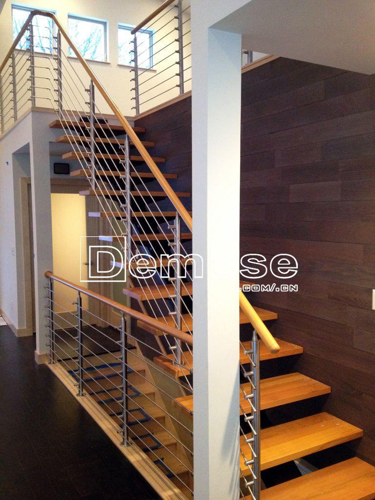 Best American James Custome Metal Stair Railing Case Foshan 640 x 480