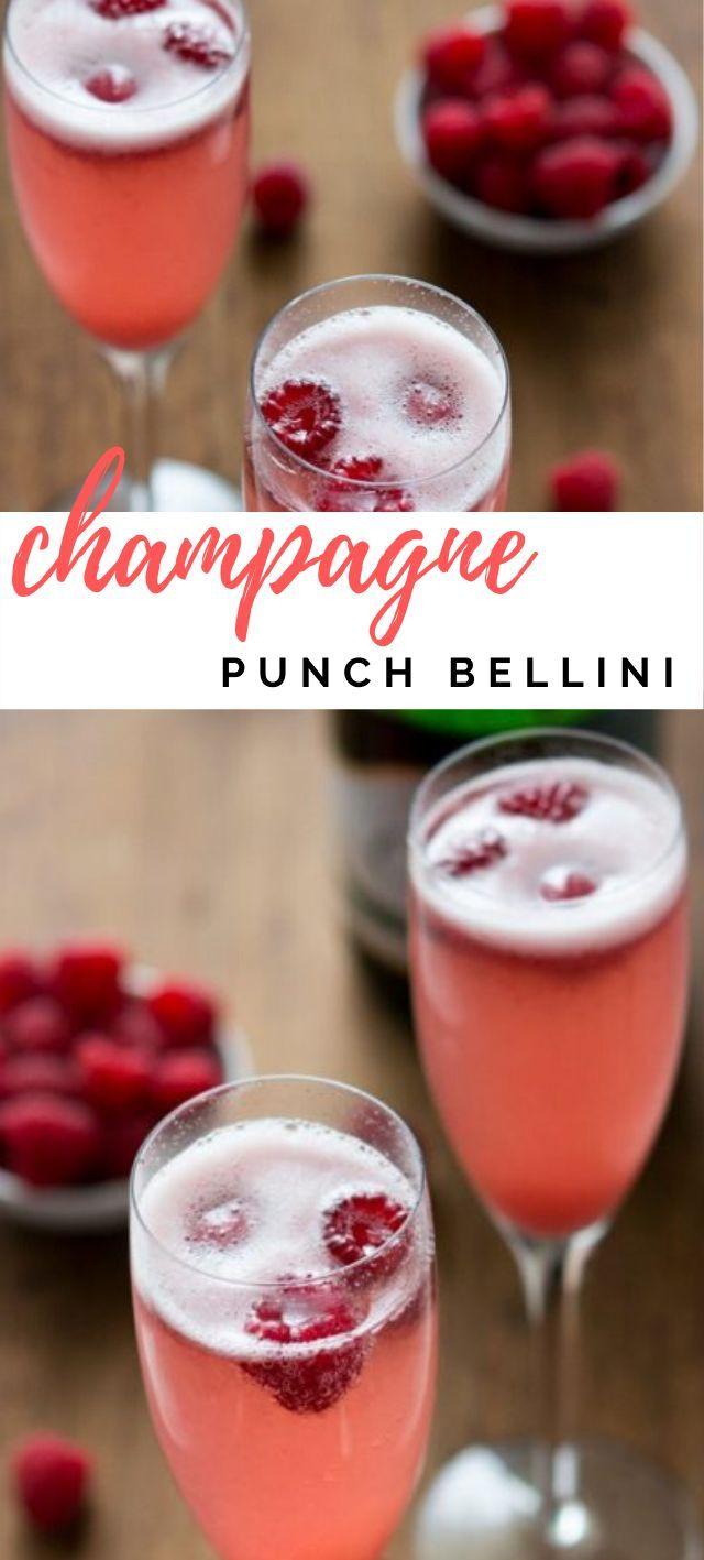 Champagne Punch Bellini Crazy For Crust Recipe Champagne Punch Dessert Recipes Easy Food