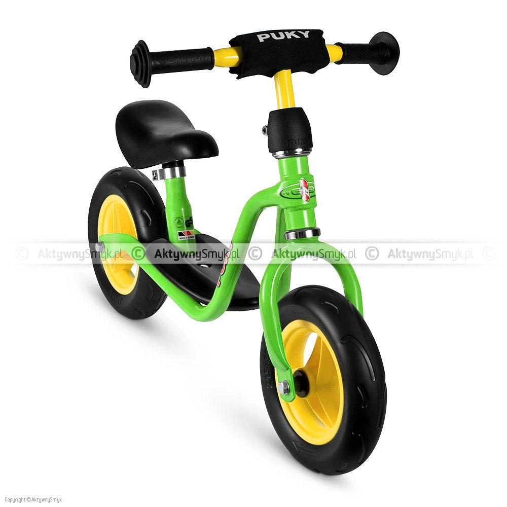 Rowerek Biegowy Puky Lr M Zielony Dziecko