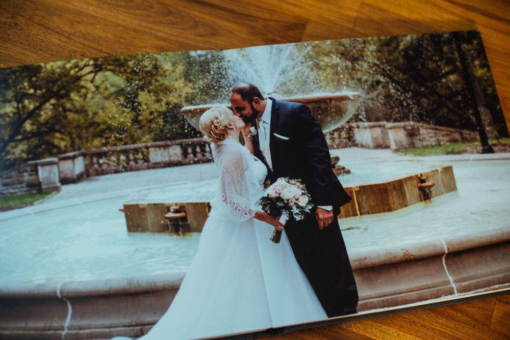 Beautiful, High-End Custom Wedding Albums | Cleveland Wedding Photography - Providing fine art wedding photography in Cleveland