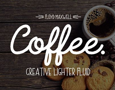 Download Coffee Fonts Pack Handmade script & sans font. Including a ...