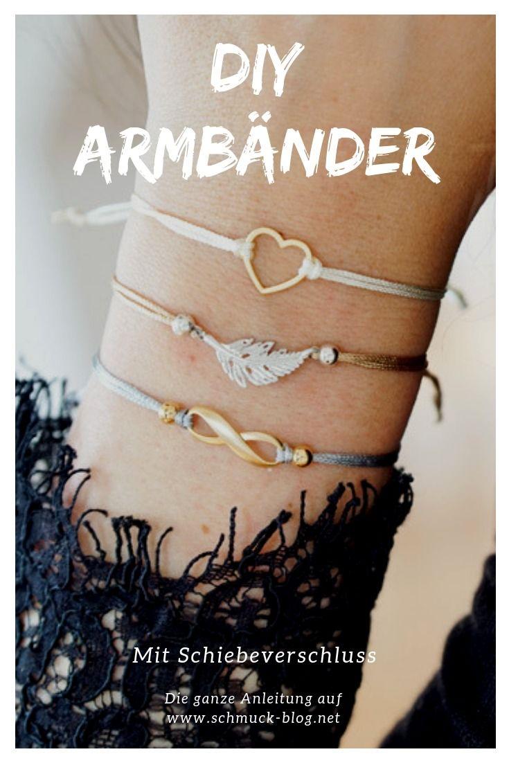 Photo of Einfache DIY-Armbänder mit Schiebeverschluss Schmuck-Blog-Magazin