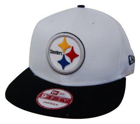 499d9d06fa3 NFL Pittsburgh Steelers White Top Snapback Cap