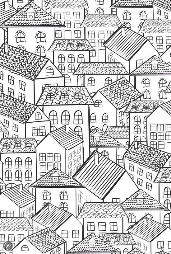 Pin de margarita diaz en COLOREA | Pinterest | Casas, Mandalas y Dibujo