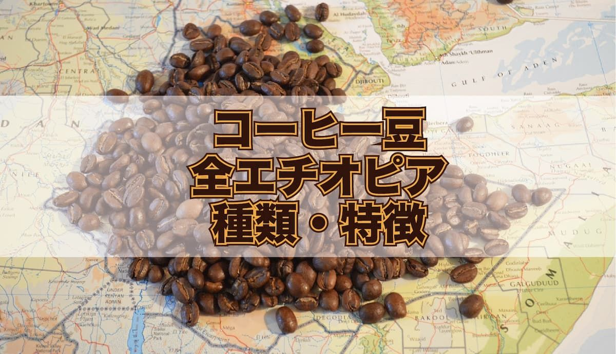 コーヒー豆 エチオピアの特徴を解説 2020 コーヒー豆 エチオピア コーヒー 豆