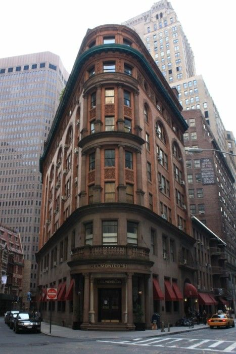 Delmonico S Nyc One Of The Oldest In Town Beaver Street