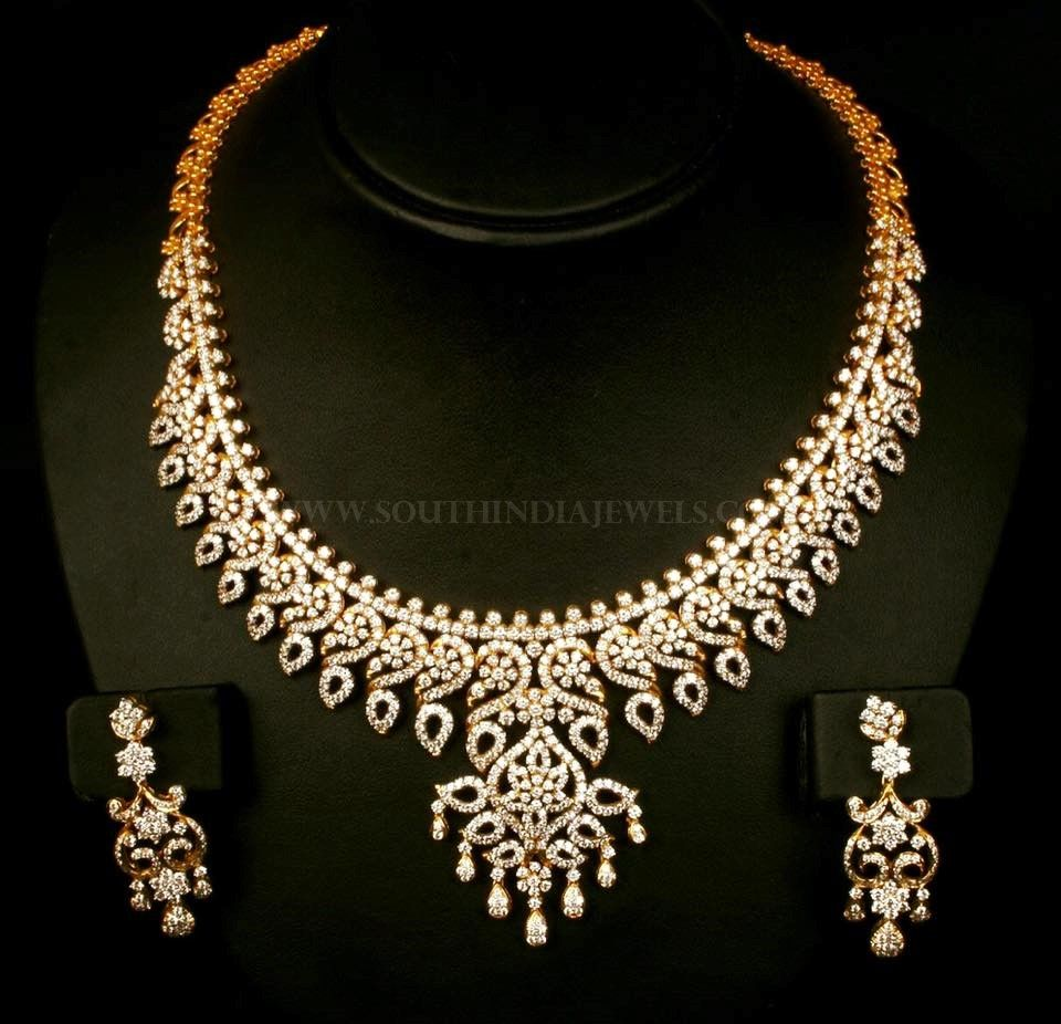Traditional diamond necklace set diamond necklace set emerald