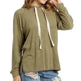 Super Soft Olive hoodie by Elan