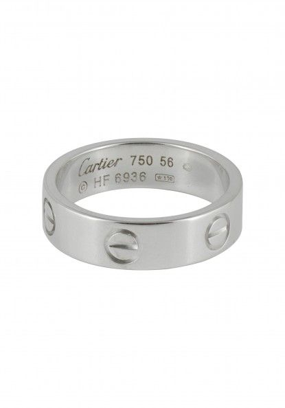 Bague Love CARTIER d occasion   Ref 33042 - Cresus 225e01b94ee