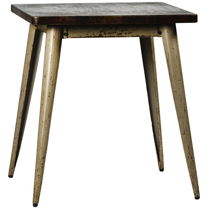Metal Dodson Bistro Table by Dovetail