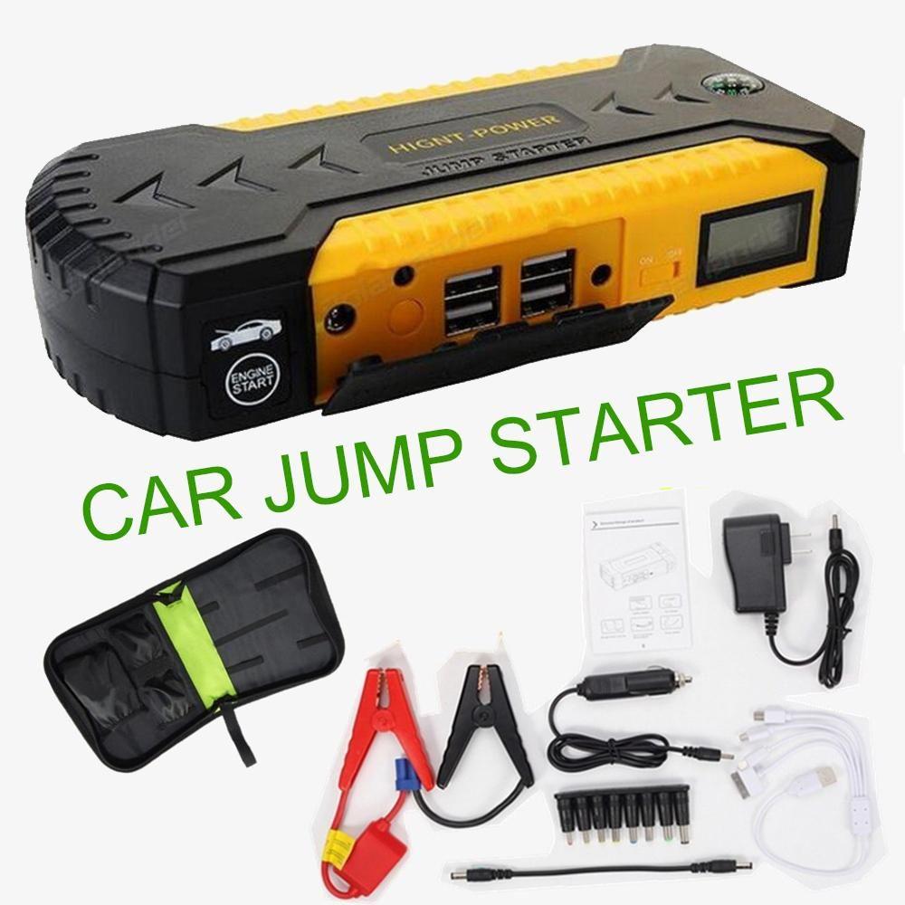 Car Jump Starter Power Bank 12v Emergency Car Battery Booster Multi Function Car Starter Start Hot Sell