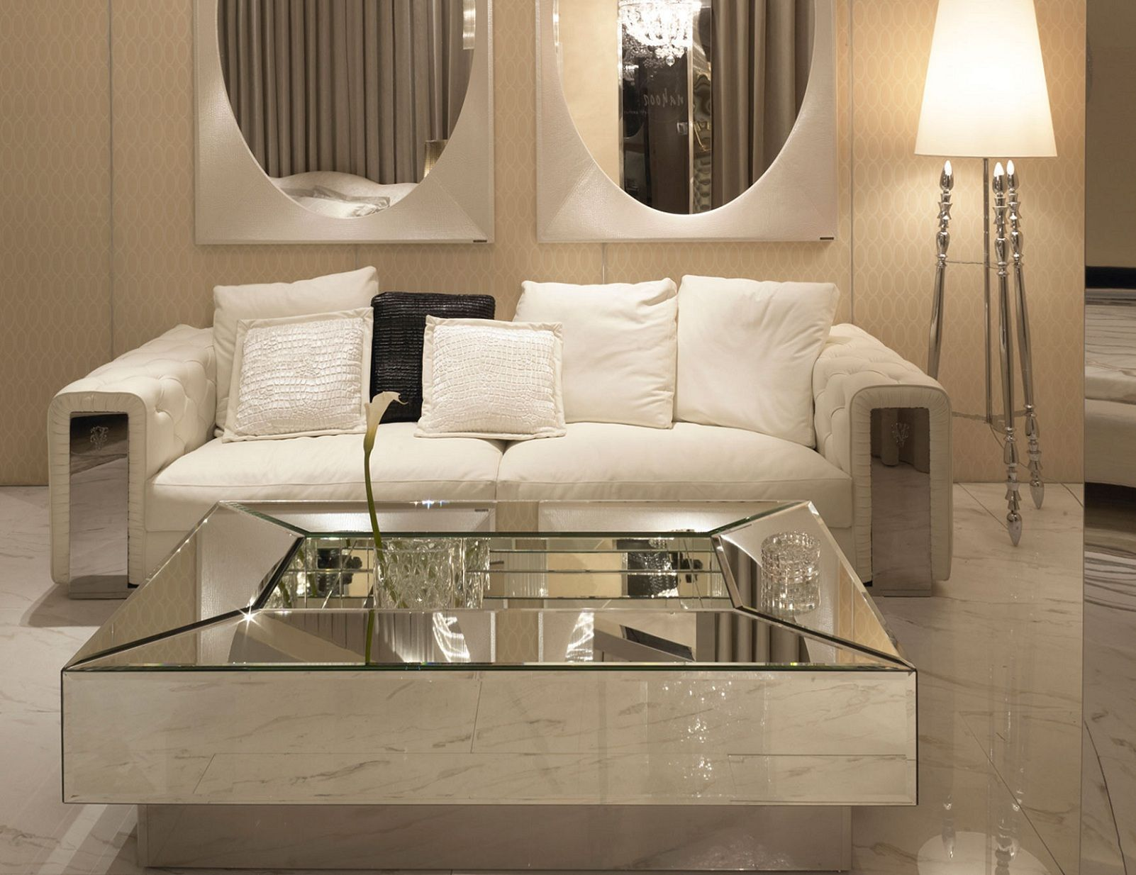 Hollywood Luxe Interiors Designer Furniture Beautiful Home