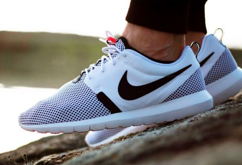 Nike Roshe One NM Breeze - White Black Hot Lava  f6a5e3465