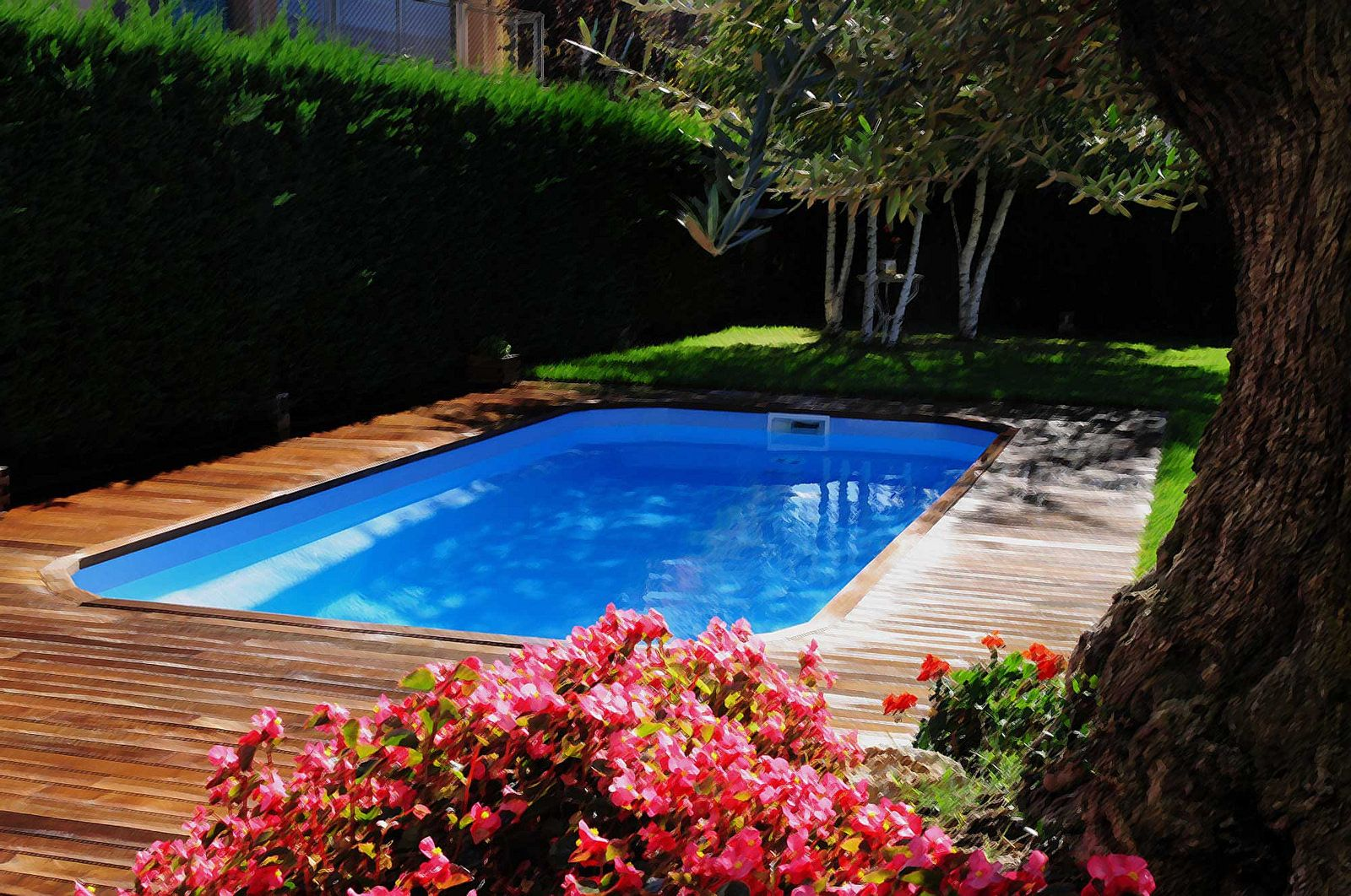 Best 25 piscinas de poliester ideas on pinterest for Piscinas prefabricadas valencia